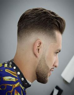 Messy Textured Men's Haircuts Ideas 2018