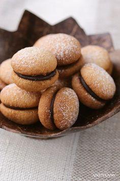 バーチ・ディ・ダーマ♪ バレンタインに★チョコサンドクッキーのレシピ♪