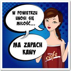 W powietrzu unosi się #miłość ... ma zapach kawy.  #kawa  www.facebook.com/stopcafe