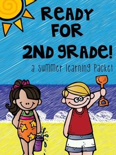 Summer homework pack for students who have completed first grade and will be entering second.  This is a 100+ page pack of materials to review key math and literacy concepts!  Your students' parents and second grade teachers will thank you for sending this home over the summer!! $