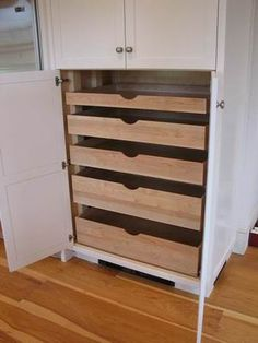 misc. craft storage: roll out bin/shelves