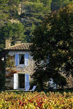 La Bastide à l'automne - La Bastide de Marie is a guesthouse located in Luberon, Provence.