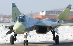 Russian PAK FA T-50 Fighter