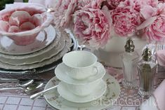 Pink Peony Tablescape And Birthday Party!