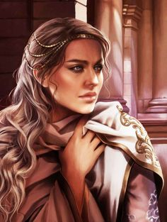 """lordbryndenrivers: """"The World of Ice and Fire - A Lyseni noblewoman. """" The Lyseni are also great breeders of slaves, mating beauty with beauty in hopes of producing ever more refined and lovely courtesans and bedslaves. The blood of Valyria still..."""