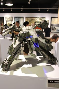 Metal Gear Rex Action figure! AMAZING