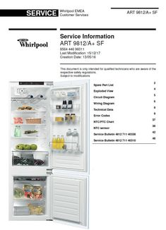 40+ Whirlpool Refrigerators & Freezers Service Manuals images in 2020 |  whirlpool, whirlpool refrigerator, refrigerator servicePinterest