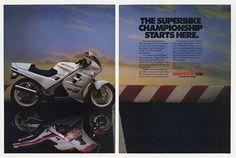 1987 Honda VFR Interceptor