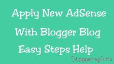 How to Apply AdSense Through Blogger