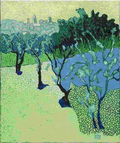 Vieuw on Puymeras, 2008, Jeroen Krabbe