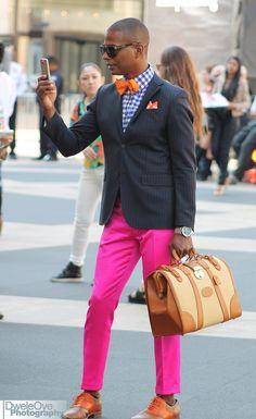 """dweleoye: """" New York Fashion Week 2014 """""""