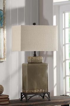Erlingr Traditional Table Lamp | Traditional table lamps, South ...