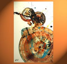 O.r.i.g.i.n.a.l. Modern Abstract Painting