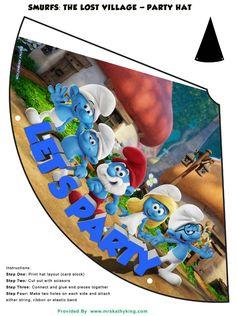 http://www.mrskathyking.com/free-smurfs-lost-village-printable-party-decorations-smurfsmovie-girlswearblue/