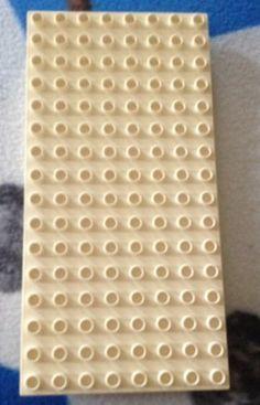 Lego Duplo Base Plate White 10x5