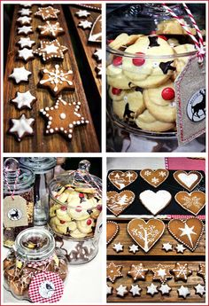 Christmas cakes, home made gifts