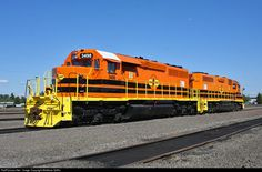 RailPictures.Net Photo: CORP 3498 Central Oregon & Pacific Railroad EMD SD40-2 at Eugene, Oregon by Matthew Griffin