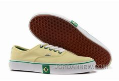 http://www.jordannew.com/vans-authentic-brazil-flag-light-yellow-mens-shoes-discount.html VANS AUTHENTIC BRAZIL FLAG LIGHT YELLOW MENS SHOES DISCOUNT Only $74.67 , Free Shipping!