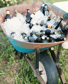 Great ideas for a backyard party!