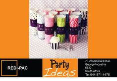 Party Ideas and Packaging