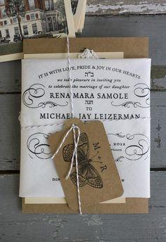 una invitación de boda muy original - Paperblog