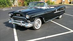 1955 Chevrolet Bel Air Convertible 350 CI, Automatic presented as lot K154 at Kissimmee, FL 2015 - image1