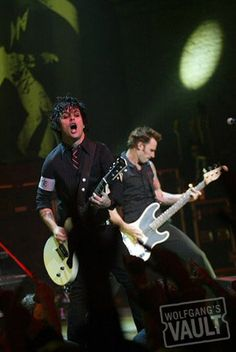 Billie Joe Armstrong Fine Art Print from Warfield Theatre (San Francisco, CA)on Oct 13, 2005