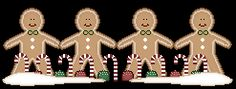 Look for printable gingerbread man finger puppets here (the kind you stick two fingers through to make them run, run as fast as you can!)