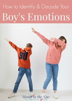Is your boy emotional but you don't know how to tell what they are feeling? If so, you will love this great read on how to identify and decode your boy's emotions! These are great parenting tips for boy moms. Positive Parenting Solutions, Parenting Advice, Kids And Parenting, Preschool Learning Activities, Raising Boys, Early Learning, Best Mom, Mom And Dad, Tween