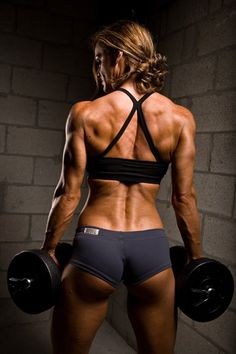 This is what mu goal is to look like from behind! I love sculpting the body. I can't even sculpt a a ball of playdoh but I can my body. LOVE IT!