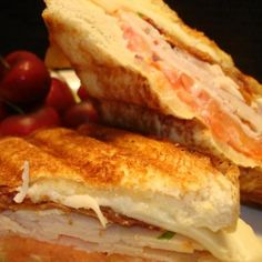 Turkey Club Panini (Sandwich) Recipe