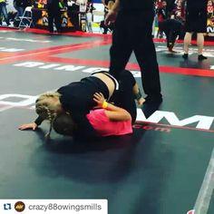 #Repost @crazy88owingsmills with @repostapp ・・・ @crazy88mma Cheyenne Hall wins 1st in the No gi via Armbar! #naga #nogi #bjj #jiujitsu