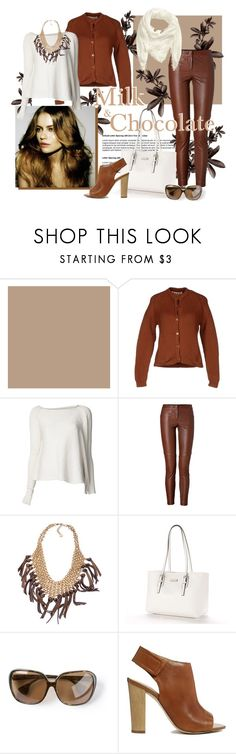 """45 Milk & chocolate"" by lilica-k ❤ liked on Polyvore featuring Marni, ISABEL BENENATO, A.L.C., Skinny by Jessica Elliot, Dana Buchman, Chrome Hearts, ALDO and H&M"