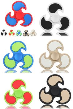 spinners of these kinds of shapes and colors!!!