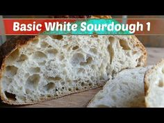 Modified Basic White Sourdough Bread