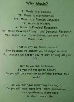 The truth as to why somebody teaches music. I have so much respect for those who do.