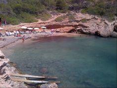 Cala Olivera en Santa Eulalia del Río, Islas Baleares
