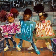 Big Words by Frank Morrison (Black Lives Matter) Frank Morrison Art, Toni Morrison, Tableau Pop Art, Black Art Pictures, Natural Hair Art, By Any Means Necessary, Black Girl Art, Black Girls, Black Babies