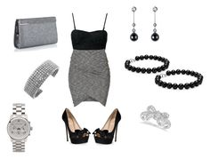 """""""All I wanna do is love your body"""" by antodivinathebest4ever ❤ liked on Polyvore featuring Club L, ONLY, Brian Atwood, Blue Nile, Allurez, Jimmy Choo and Michael Kors"""