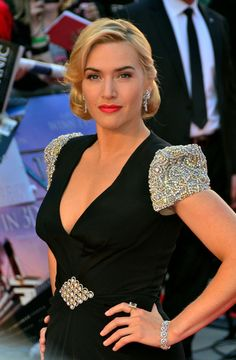 "Kate Winslet Photo - Kate Winslet attends the premiere of ""Titanic 3D"" at the Royal Albert Hall in London"