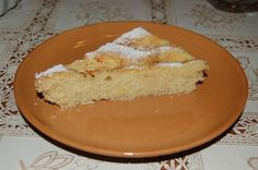 Fetta di torta di mele al microonde