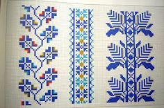 cusaturi romanesti Tatting, Needlework, Cross Stitch, Kids Rugs, Traditional, Quilts, Embroidery, Blanket, Sewing