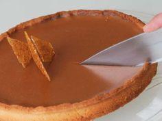 Recette de Tarte au chocolat et caramel (au beurre salé)