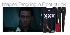 """Imagine Fangirling in Front of Loki"" by fandomimagineshere ❤ liked on Polyvore featuring Paige Denim, Yves Saint Laurent and Kate Spade"