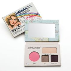 theBalm cosmetics at Kohl's - Shop the full line of cosmetics products, including this theBalm Autobalm Hawaii Face Palette, at Kohl's. Make Up Palette, Face Palette, Eyeshadow Palette, Makeup Eyeshadow, Mascara, Eyeliner, The Balm Makeup, Beauty Makeup, Makeup Goals