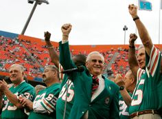 Don Shula and his 1972 Miami Dolphins