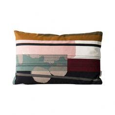 Ferm Living's Colour Block cushion 3, small
