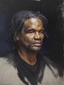 John (portrait study) by artist William Suys. A #portrait #painting found on the FASO Daily Art Show -- http://dailyartshow.faso.com