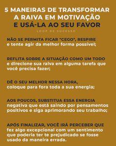 mindset de empreendedorismo | 5 maneiras de transformar a raiva em motivação e usá-la ao seu favor.