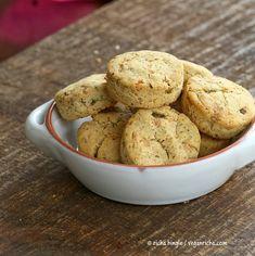 Gluten-free Jalapeno Pepper Jack Biscuits. Vegan Gum-free Recipe - Vegan Richa
